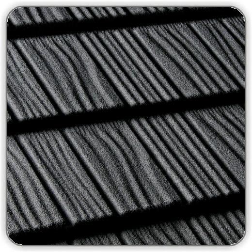 Композитная черепица Квинтайл Шейк – цвет Черный цена