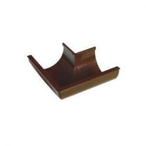 Угол желоба 90 гр наружный Пластмо – 125-90