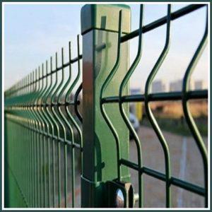 Секционные заборы - сварная сетка