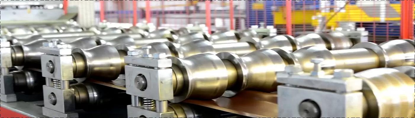 Производство металлочерепицы на заводе