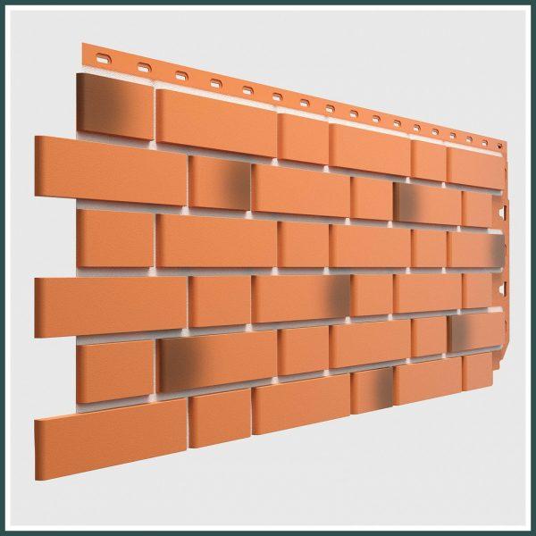 цена Фасадная панель FLEMISH, Красный жженый